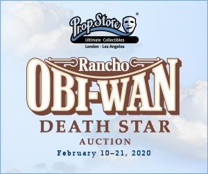 Prop Store Death Star Auction