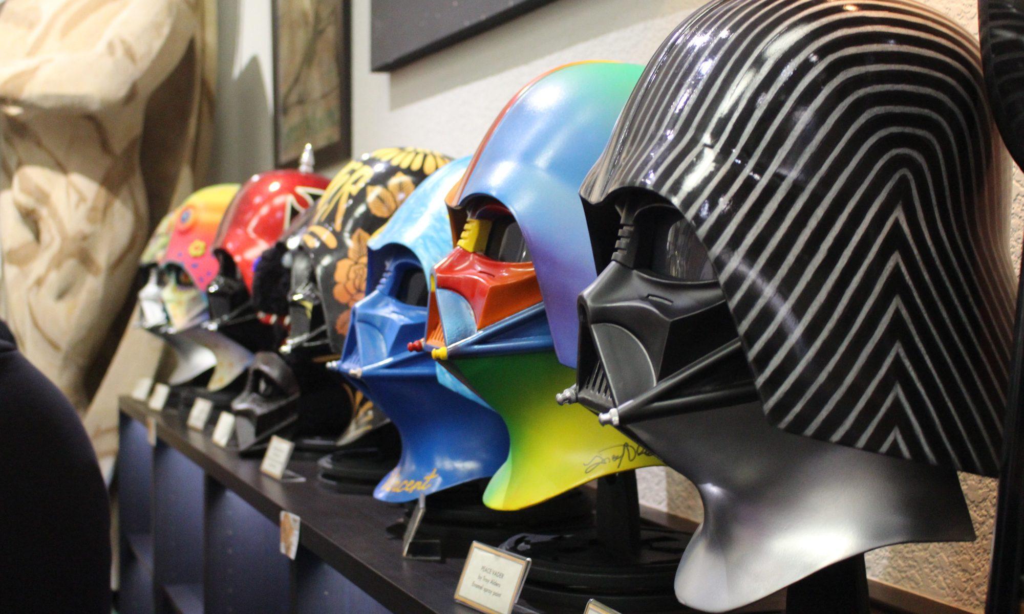 Vader Project Helmets