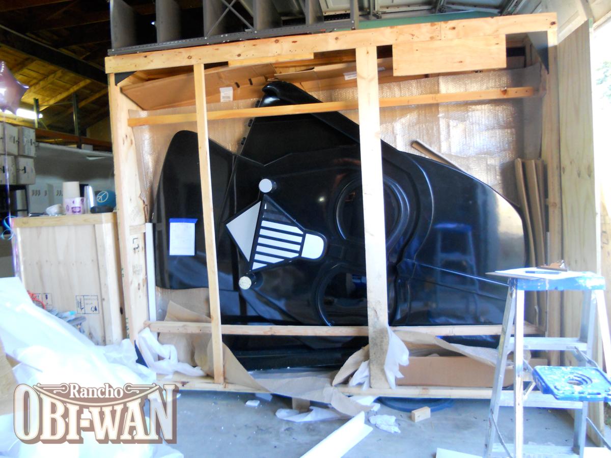 Rancho Obi-Wan Toys R Us Darth Vader Display