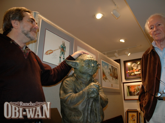 Steve Sansweet and Ralph McQuarrie