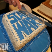 Rancho Obi-Wan Recreation of famous Happy Birthday Star Wars cake